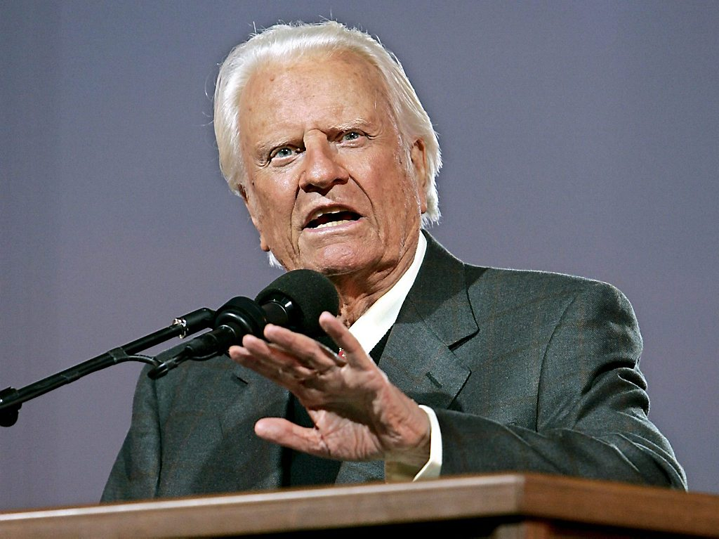 EVANGELIST BILLY GRAHAM CRUSADE