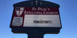 church poke