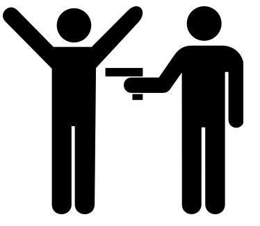 robbed-at-gunpoint-sign