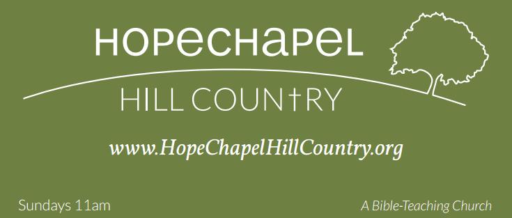 Hope Chapel Sign Logo
