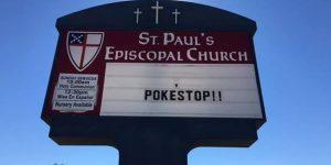 church poke